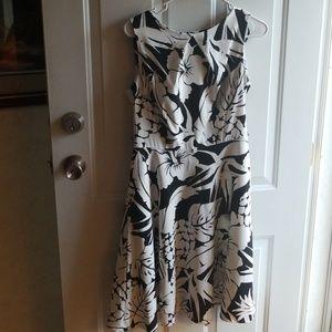 Alyx dress black and white size 8